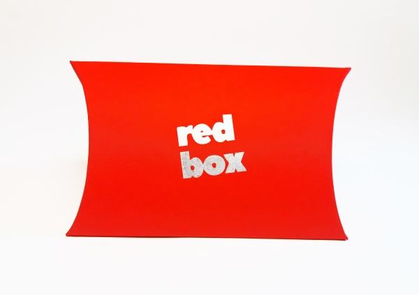 Cutii pillow box inscriptionate