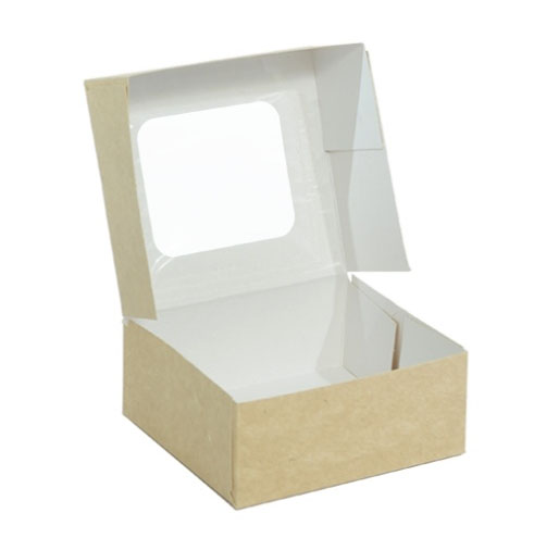 cutie cu autoformare si fereastra transparenta